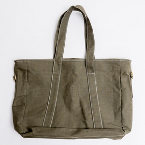 Before Mondays St Mark St. Tote (Olive) - Travel Recommends Shop