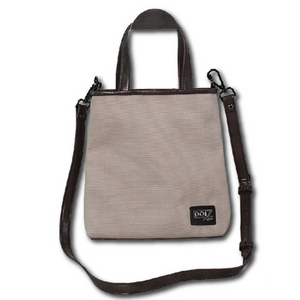 DOI2 PROJECT Waterproof Canvas Mini - Light Grey - Travel Recommends Shop