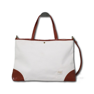DOI2 PROJECT Waterproof Canvas 2 Ways - Creamy White - Travel Recommends Shop