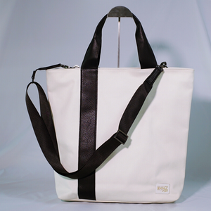 DOI2 PROJECT Waterproof Canvas Tote - Creamy White - Travel Recommends Shop