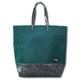 DOI2 PROJECT Waterproof Canvas Cross Tote - Deep Green - Travel Recommends Shop