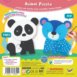 Animal Puzzle – Bear/Panda - Travel Recommends Shop