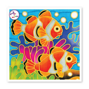Batik Painting - Design SeaWorld 2 - Travel Recommends Shop