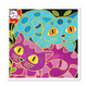 Batik Painting - Design Cat 2 - Travel Recommends Shop