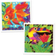 Batik Painting 2-In-1 Box - Design Goldfish and Toucan - Travel Recommends Shop
