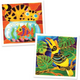 Batik Painting 2-In-1 Box - Design Cat & Fish and Hornbill - Travel Recommends Shop