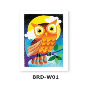 Sand Art – Bird Series (Medium) - Design BRD-W01 - Travel Recommends Shop