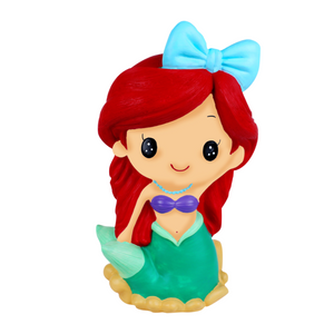 Silicone Coin Bank Painting – Mermaid - Travel Recommends Shop