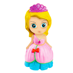 Silicone Coin Bank Painting – Princess - Travel Recommends Shop
