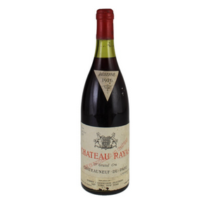 1976 Chateau Rayas Chateauneuf du Pape Reserve, Rhone - Travel Recommends Shop