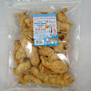 Fish & Sotong Cracker (Spicy) - NED - Travel Recommends Shop