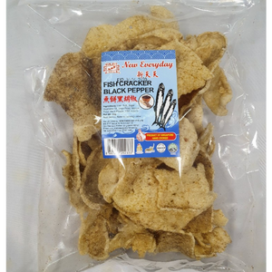 Fish Cracker (Black Pepper) - NED - Travel Recommends Shop