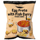 Egg Prata with Fish Curry Chips (22g) (Bundle of 3) - Travel Recommends Shop