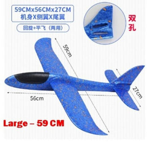 Plane Glider - Blue - 59cm - Travel Recommends Shop