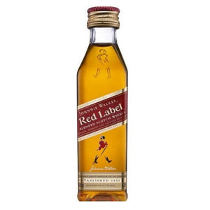 Johnnie Walker Red Label 200ml - Travel Recommends Shop