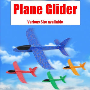 Plane Glider (Various Sizes) - Red color - Travel Recommends Shop