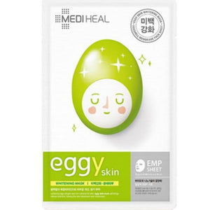 Mediheal Eggy Skin Whitening Mask (1 box of 10 sheets) - Travel Recommends Shop