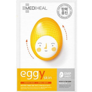 Mediheal Eggy Skin Firming Mask (1 box of 10 sheets) - Travel Recommends Shop