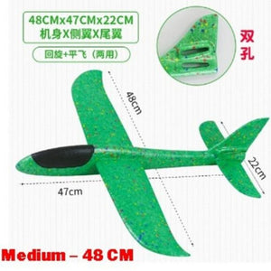 Plane Glider (Various Sizes) - Green color - Travel Recommends Shop