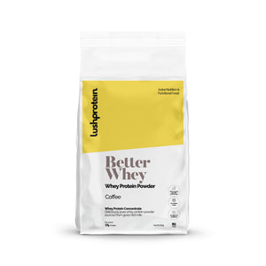 Better Whey - Coffee, 20 servings/500g
