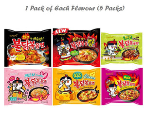 Hot Spicy Chicken Ramen (6 Flavours!) - Travel Recommends Shop