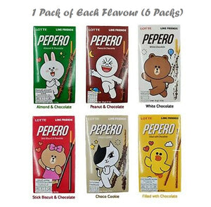 LOTTE Pepero LINE Friends (All Flavours!) - Travel Recommends Shop