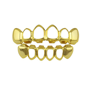 Cutted Gold Grillz