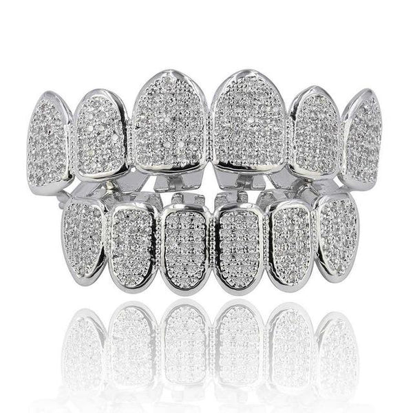 Iced Out Cluster CZ Premium Grillz