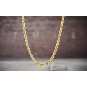 3mm Gold Rope Chain