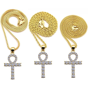 Egyptian Gold Ankh Cross