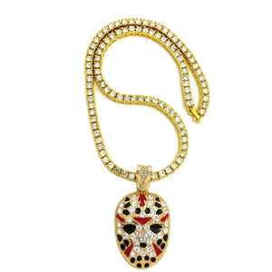Slaughter Gang Mask Pendant
