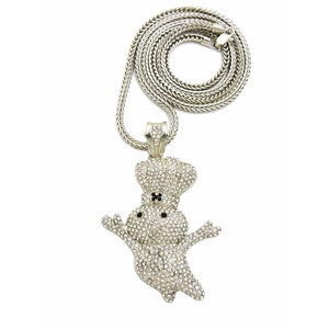 Dough Boy Pendant With Franco Chain