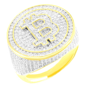 Bitcoin Dollar Ring