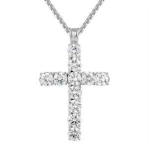Sterling Silver Bling Cross
