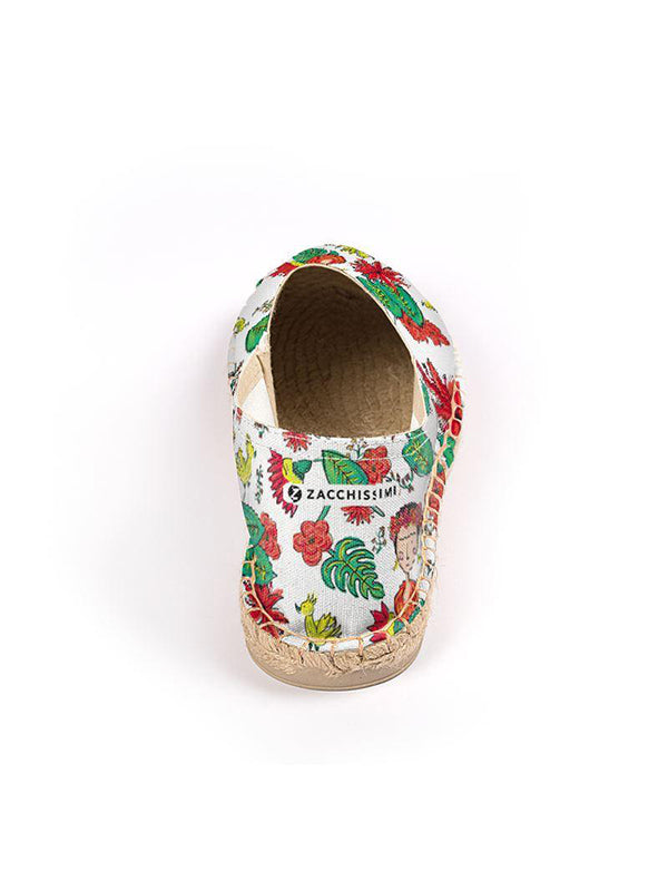Frida Kahlo Inspired Bedding Espadrilles Shoes | Tropicalia