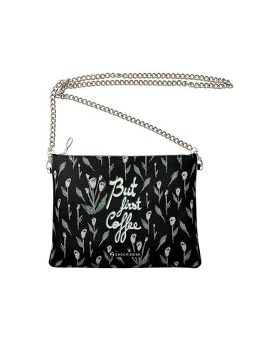 Leather Bag | Wild Blossoms