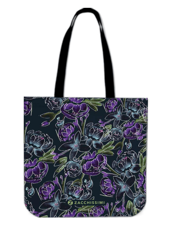Tote Bag | Blossoms Blue