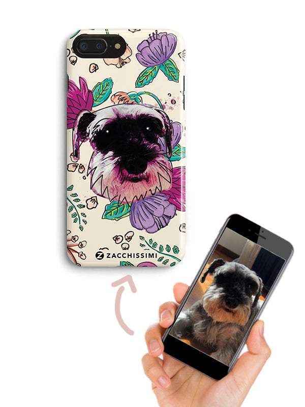 Personalised Phone Cover Painted Dog Cat
