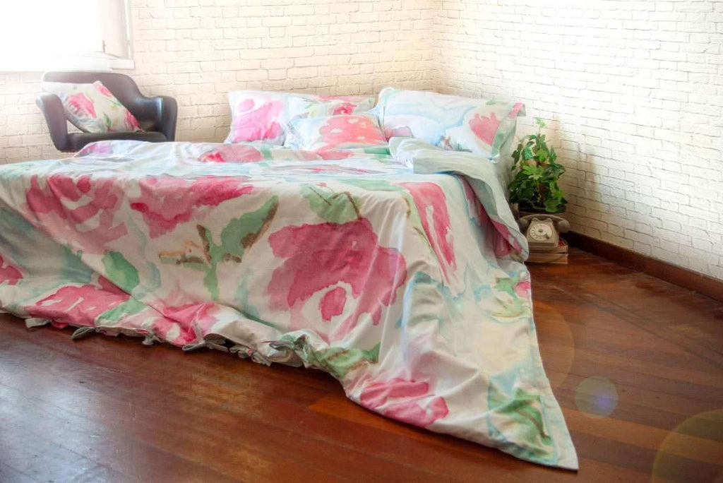 Duvet Cover -  Fuchsia | Flamingo