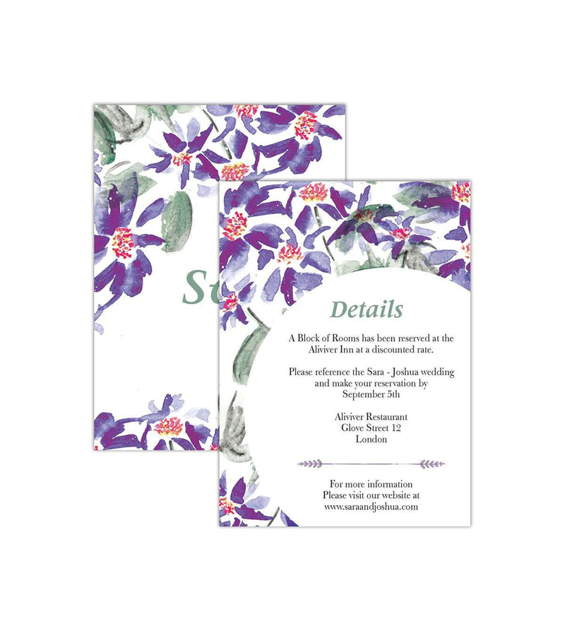 Wedding Invite Print