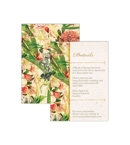 Ambria - Details Card | From US$0.84 Each