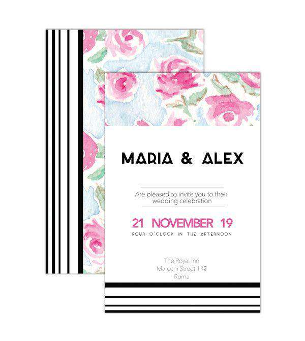 Zacchissimi Wedding Invites custom design