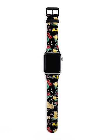 Apple Watch Strap | Pet & Florals Pink