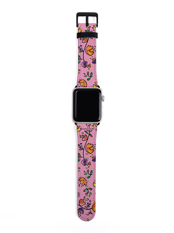 Apple Watch Strap | Good Vibes Pink