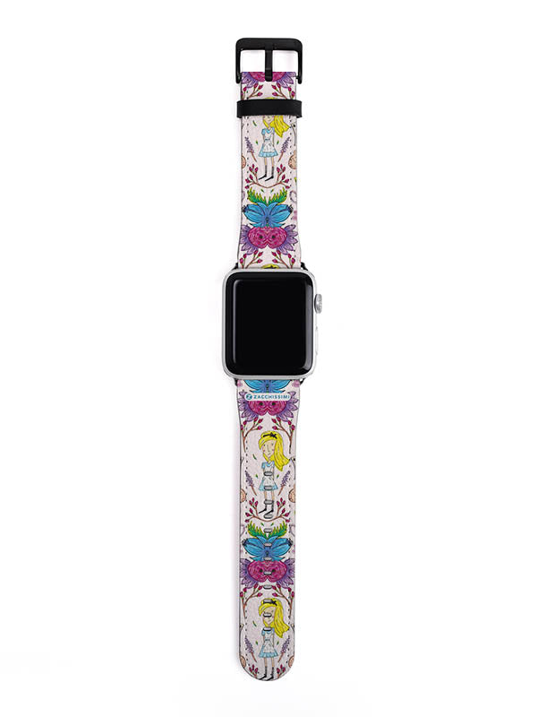 Wonderlust | Alice in Wonderland Inspired Apple Watch Strap  38 to 42 mm
