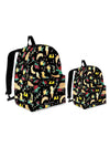 Kit Backpack Mini Me | Good Vibes Black