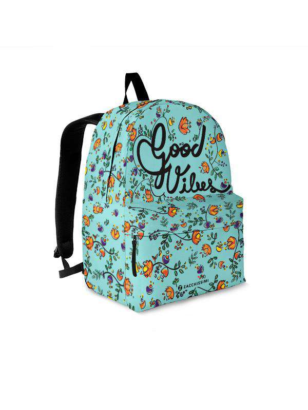 Backpack | Good Vibes Green