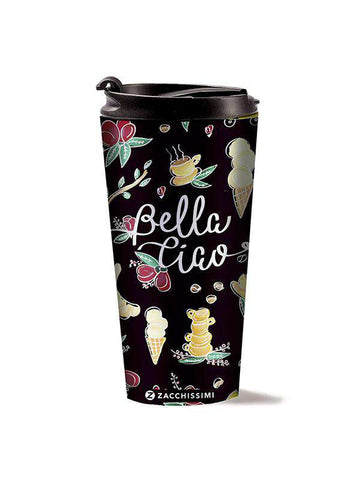 Stainless Steel Mug - Bella Ciao Black