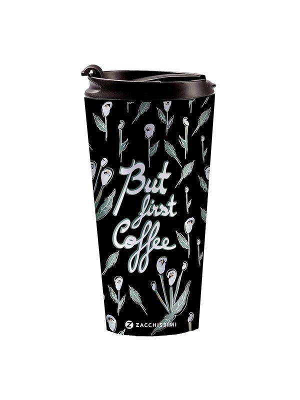 Stainless Steel Mug - First Coffee