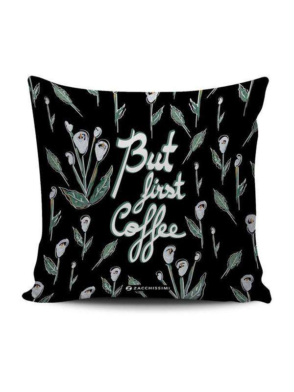 Cushion | First Coffee